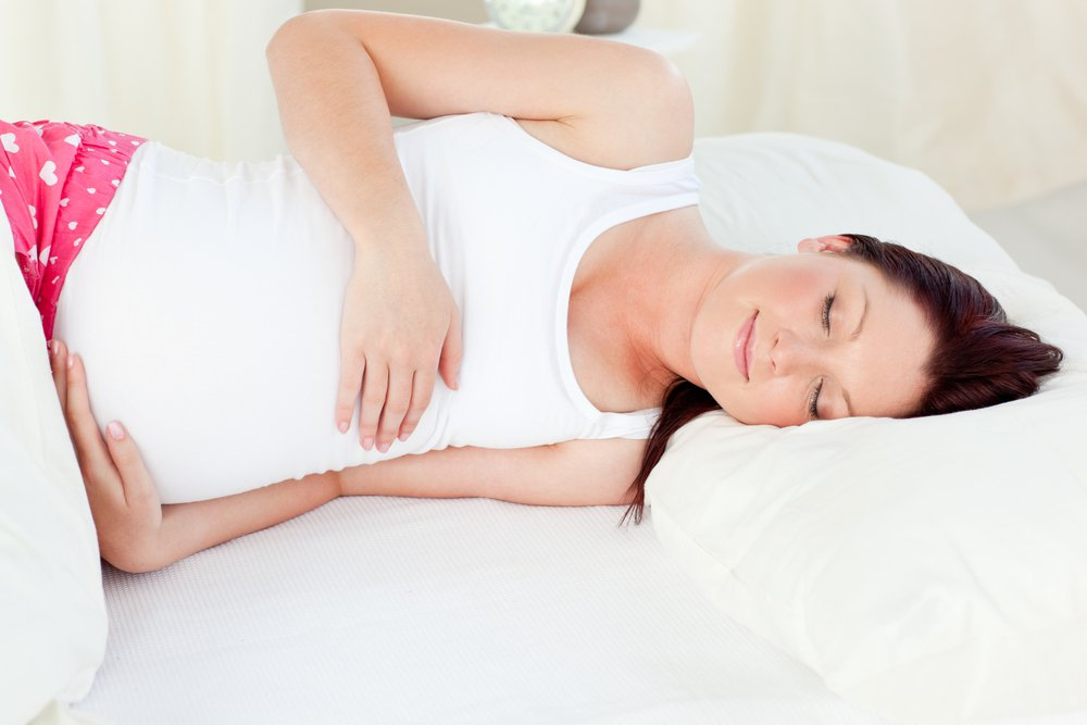 What causes hiccups during pregnancy?