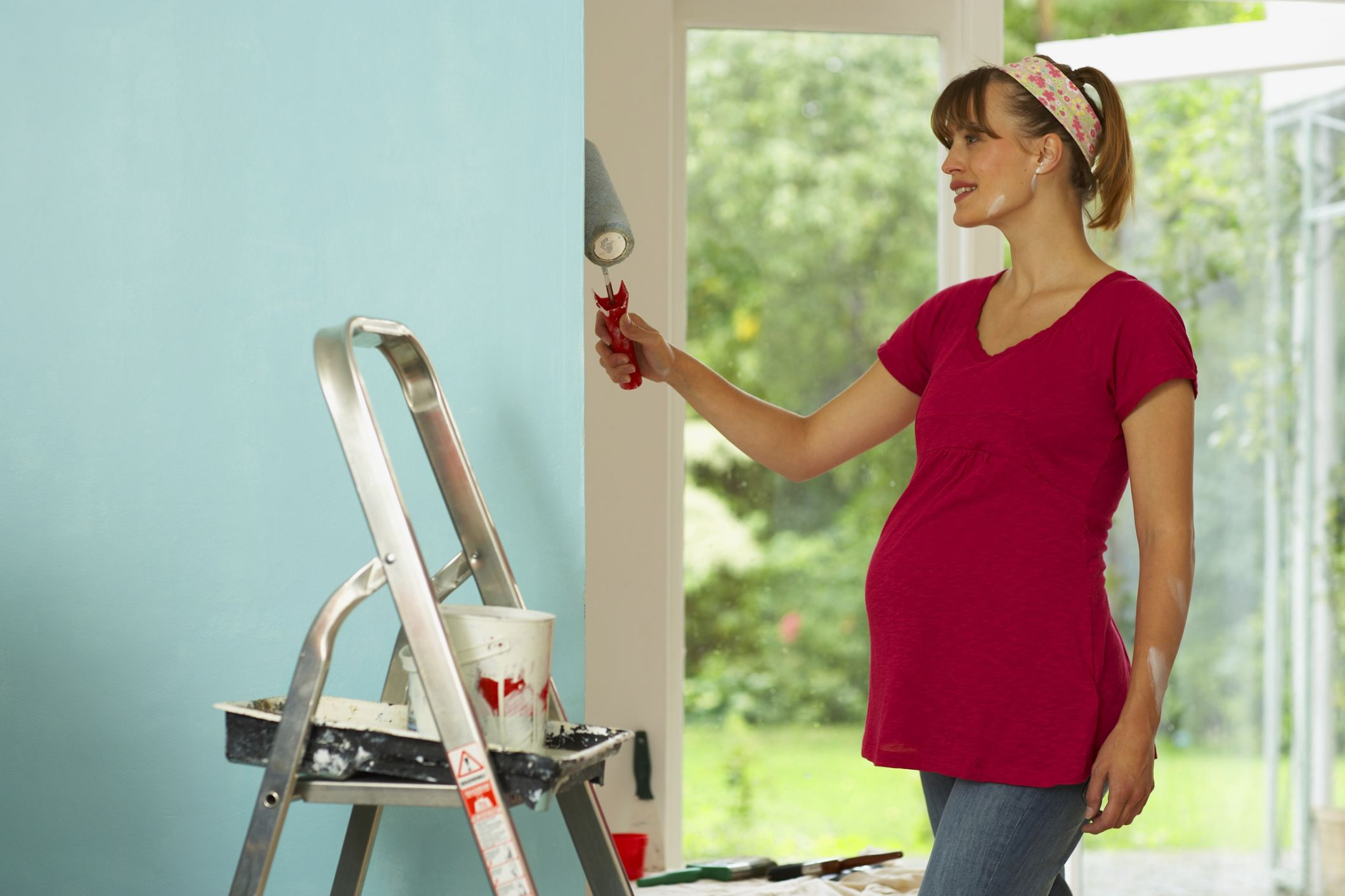 Painting While Pregnant Pregnancy Related - Can you paint while pregnant