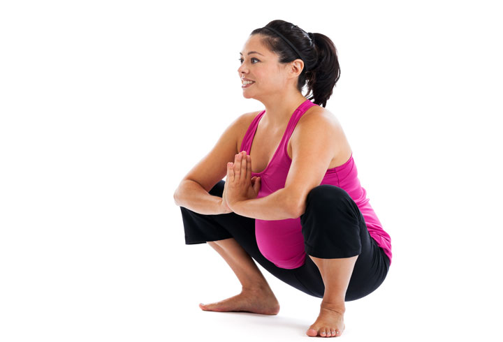 Squats can help to induce labor naturally.