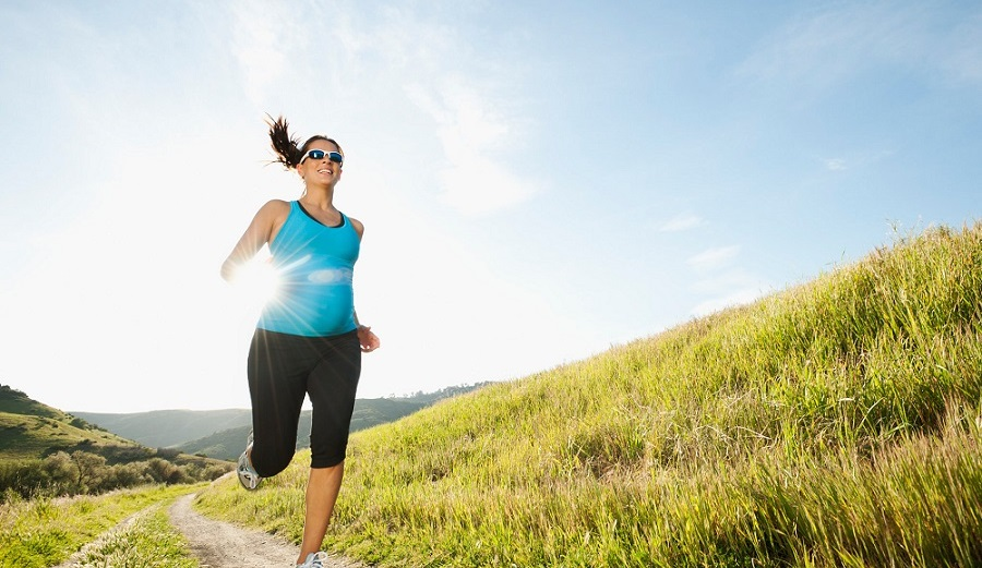 Walking during pregnancy can help to induce labor naturally.
