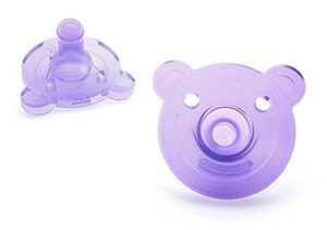 Philip Bear Shaped Baby Pacifier
